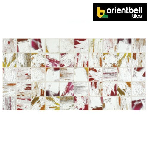 Orientbell OTF Breeze Mosaic Designer Wall Tile, Size: 300x600 mm