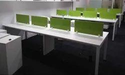 Metal Leg Linear Workstations