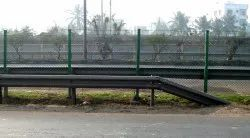 Steel W Beam Crash Barriers