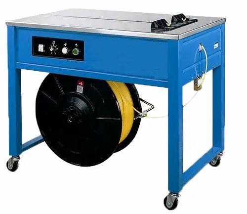 Ashvani Packaging Stainless Steel Carton Strapping Machine, CSM - 100