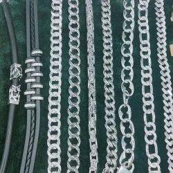 Hallmarks Silver Men Bracelet