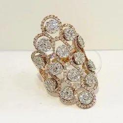Party Wear Diamond Ring