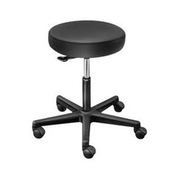 Black Revolving Stool