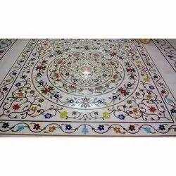 Marble Inlay Work Flooring