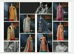 Casual Wear Ladies Printed Cotton Suit