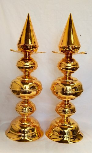 Gold Plating Services for Temple Items - Kalasams in Peenya