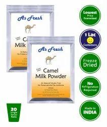 As Fresh Camel Milk Powder 400g (200gx2), 20 Single Serve Sachets Inside