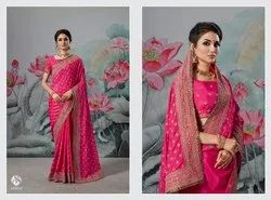 Ethnic Pinkish Royal Stylish Sarees