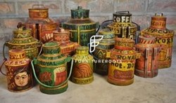 Vintage/Rusty Milk Cans