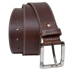 Brown Mens Leather Belt