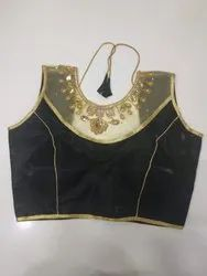 Black Handwork Blouse