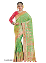 Silk Party Wear Embroidered Indian Saree