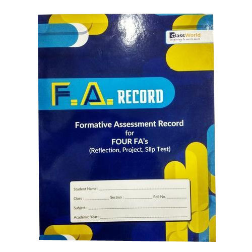 Formative Assessment Record Book At Rs 45 Piece Softcover Book À¤à¤• À¤¸à¤°à¤¸ À¤‡à¤œ À¤¬ À¤• À¤µ À¤¯ À¤¯ À¤® À¤• À¤ª À¤¸ À¤¤à¤• R K Binding Works Hyderabad Id 20340687091 The assessment area of wikiproject books focuses on assessing the quality of articles within the wikiproject's scope. formative assessment record book