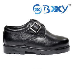 Kids Leather Back To School Shoes