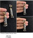 Line Art Madhubani Earrings