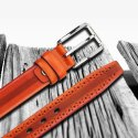 Genuine Leather Formal Casual Profile Belt For Men