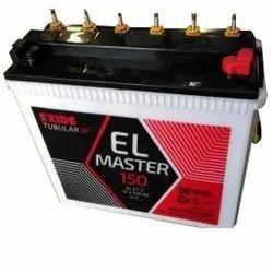 Exide EL Tubular Battery 150ah, 12V