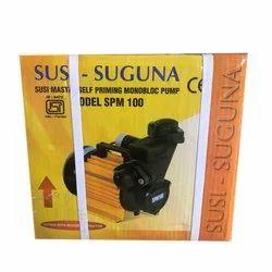 Electric Single Phase SPM 100 Suguna Self Priming Monoblock Pump
