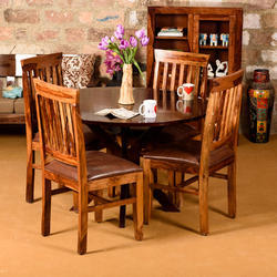 Induscraft Between The Lines Sheesham Dining Table Nice Look