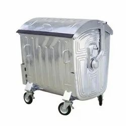 Stainless Steel Garbage Bin With Lid