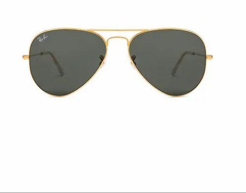 Ray Ban Sunglasses Ray Ban Rb3025 58 Medium Golden Green Men Sunglasses Retail Showroom From Ahmedabad