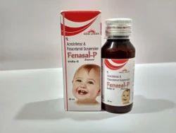 Aceclofenac Paracetamol Suspension