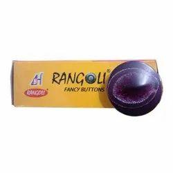 Round Oval Square Multicolor Purple Plastic Coat Button, Size/Dimension: 1 Cm. To 3 Cm