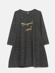 Beyond Cool Vellour Dress