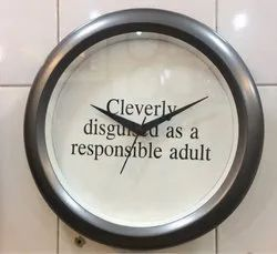 Modern Promotional Wall Clock