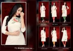 Designer Straight Long Kurti