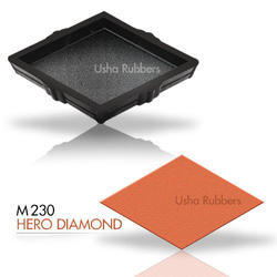 M230 Hero Diamond Concrete Paver Rubber Mould
