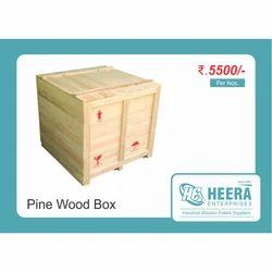 Heavy Duty Pinewood Packaging Box