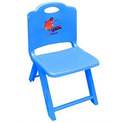 Blue Plastic Baby Folding Chair, Age of Kid: 1 to 3 Year