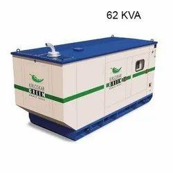 62 Kva Air Cooling 62kVA Kirloskar Silent Diesel Generator