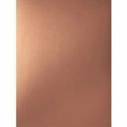 202 G Rose Gold Mirror Finish Sheet