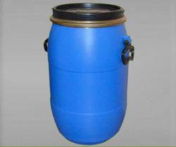 Blue with Black Lid Open Top Drums, Capacity: 30 and 65 L