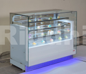 Riddhi Stainless Steel Bakery Display Counter, Warranty: 1 Year