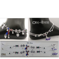Bombay Silver Fancy Payal
