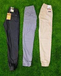 Cotton/Linen Plain Branded Original Joggers