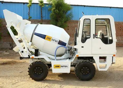 John Infra Self Loading Concrete Mixer Truck