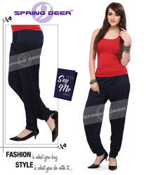 Navy Blue Patiala Pant