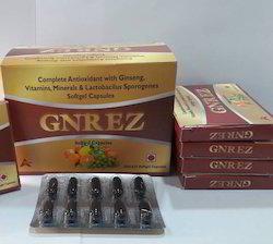 Ginseng Calcium Nicotinamide Folic Acid Softgel Capsules
