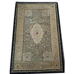 Gold HH Embroidered Zardozi Wall Hanging