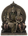Resin God Statue(Family: Shiva Parvati &Ganesha)