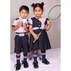 Summer Kids School Uniform