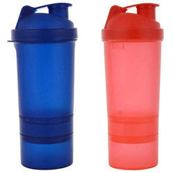 Plastic And Plastic Sports Sipper Water Bottle