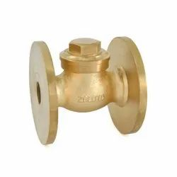 1014 Bronze Horizontal Check Valve