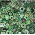 Green Agate Stone Slab, For Countertops, Thickness: 20 Mm
