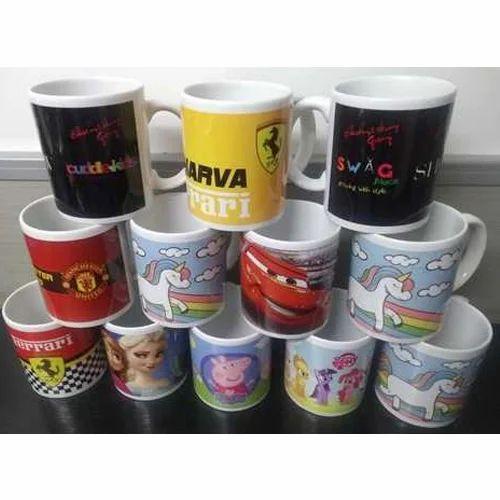 Cuddle Kids Ceramic Printed Gifted Mugs