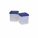 Java Jago Plastic Square Container, Box Capacity: 4000 Ml